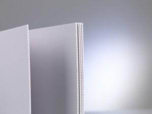 Archiv-Wellpappe grau_weiß - 100x172 cm_KB