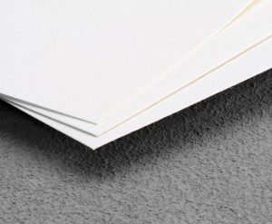 Fließkarton weiß Zellstoff - 70x100cm_KB