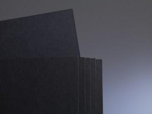 Passepartoutkarton Hahnemühle Spezial Schwarz 0,45mm 102x152 cm_KB