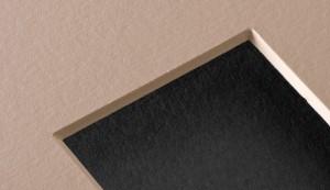 Passepartoutkarton Star-Board NEW 80x120 cm , 1,4 mm Dicke , naturweiß_weiß